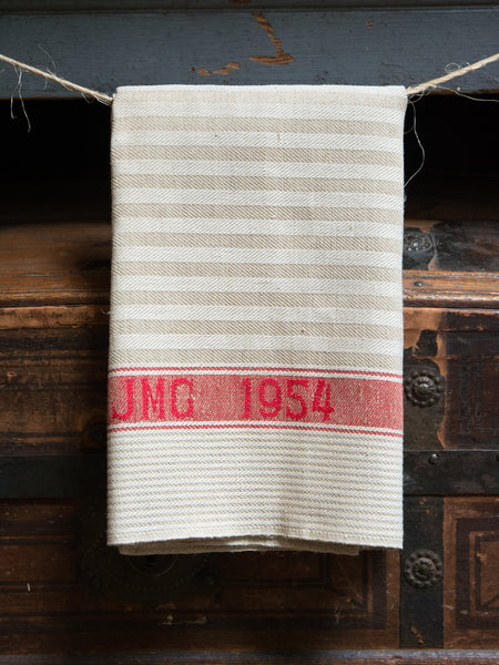 Vintage Swiss Military 1954 Towel