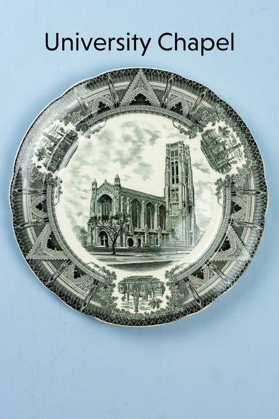 Vintage University of Chicago Cabinet Plates