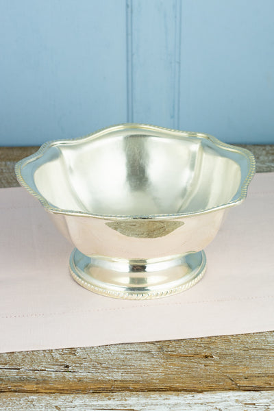 Vintage Silverplate United States Navy Centerpiece Bowl
