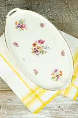 Antique Bavarian Porcelain Tray