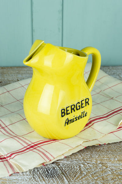 Vintage Berger Anisette Pitcher