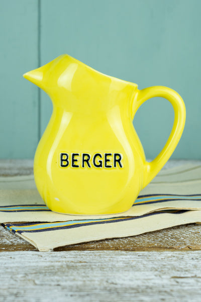 Vintage Berger Pitcher