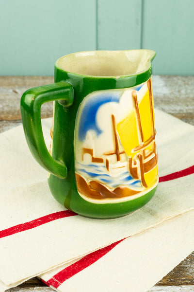 Vintage French Boat Pitcher