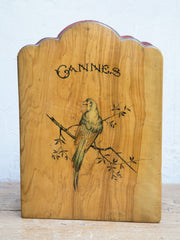 Antique Cannes Souvenir Travel Frame