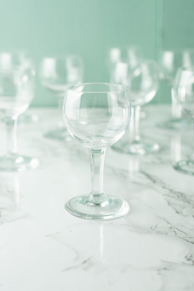 Vintage Baccarat Crystal Cordial Glasses - Set of 8