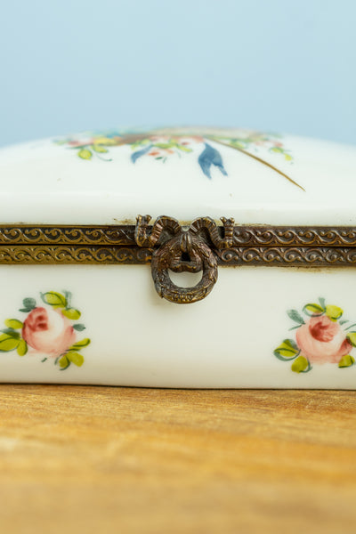 Vintage French Floral Limoges Box