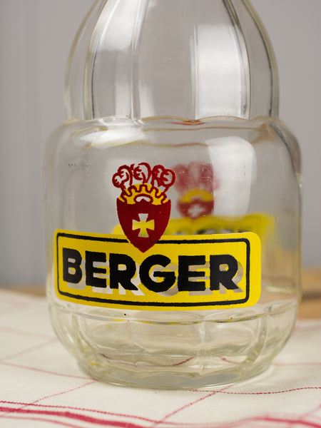 Vintage Glass Berger Carafe