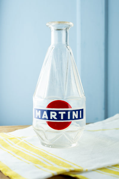Vintage Glass Martini Carafe