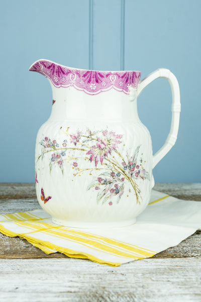 Antique Limoges Pitcher