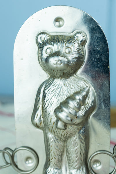 Vintage Chocolate Bear Mould