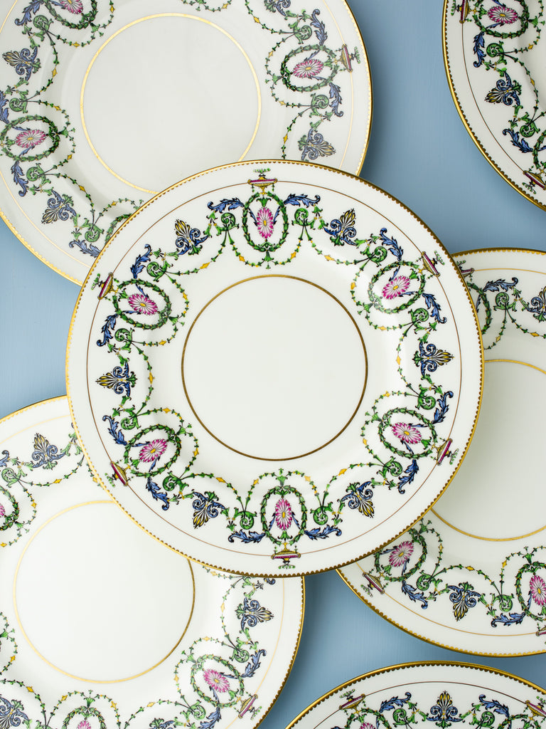 Vintage Minton Dinner Plates - Set of 8  sc 1 st  P.O.S.H. Chicago & Vintage Minton Dinner Plates - Set of 8 | P.O.S.H.