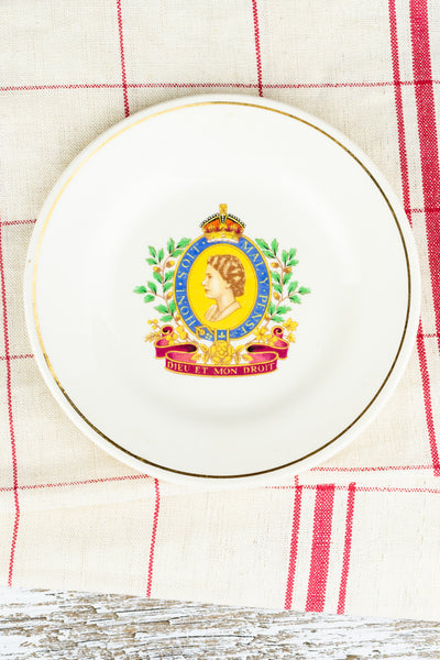 Vintage Queen Elizabeth II Pin Tray