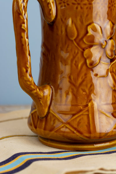 Vintage French Country Rooster Pitcher