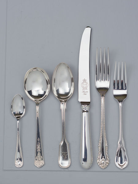 Vintage Hotel Flatware - 6 Piece Placesetting