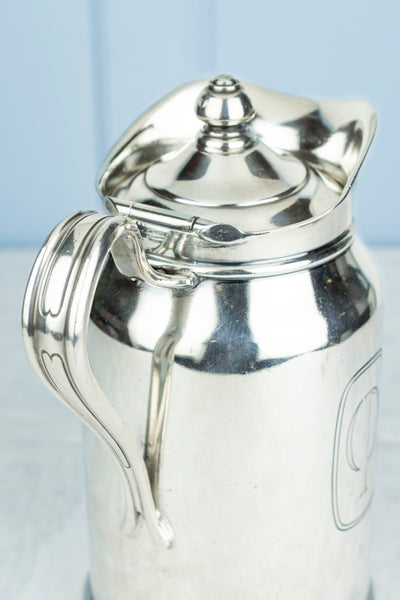 "Vintage Silverplate ""Century Plaza"" Insulated Carafe"