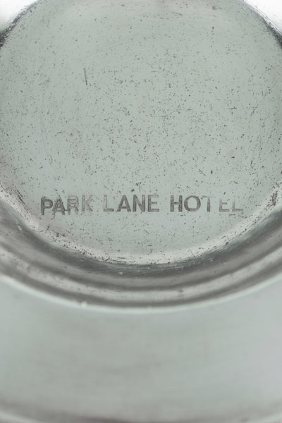 Vintage Silverplate Park Lane Hotel Bottle Coaster
