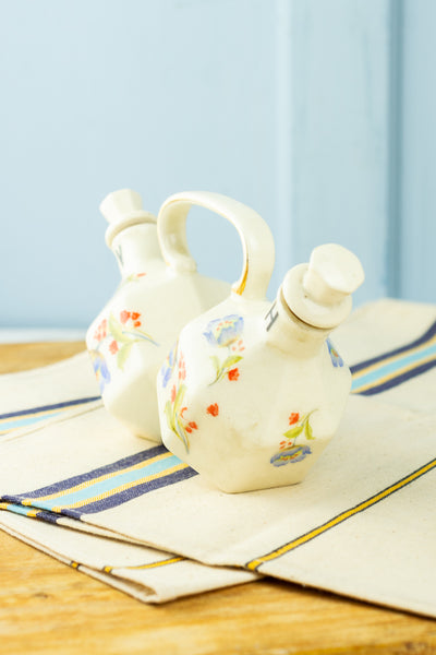 Vintage Oil & Vinegar Cruet Set