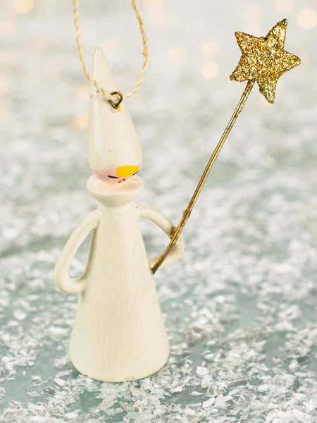 Glittering Winter Queen Ornament