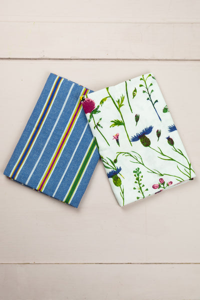 Wildflower Bee Tea Towel Set