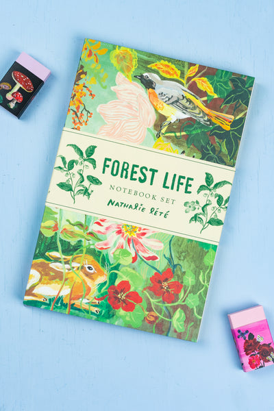 Forest Life Nathalie Lété Notebook Set