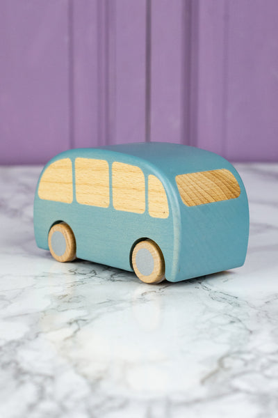 Maileg Wooden Bus Friction Toy