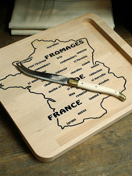 Laguiole Fromage Board with Knife