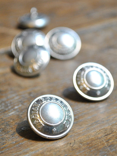 Vintage European Uniform Buttons - Set of 6
