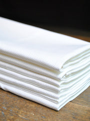 Huck Border Hotel Napkins- Set of 6