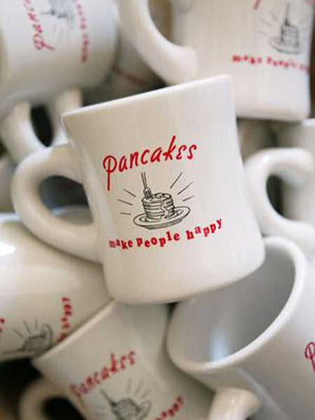 Pancakes Make People Happy Mug P O S H