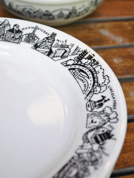 Chicago Skyline Side Plate