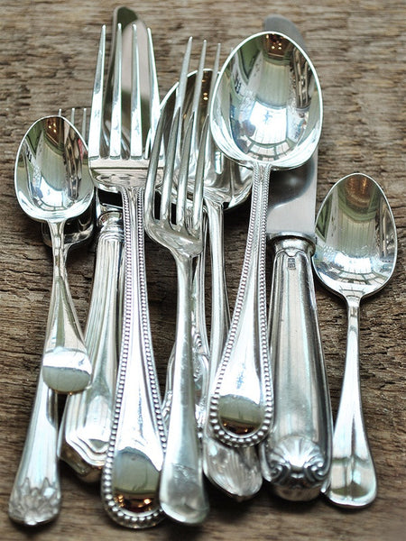Vintage Hotel Flatware - 5 Piece Placesetting
