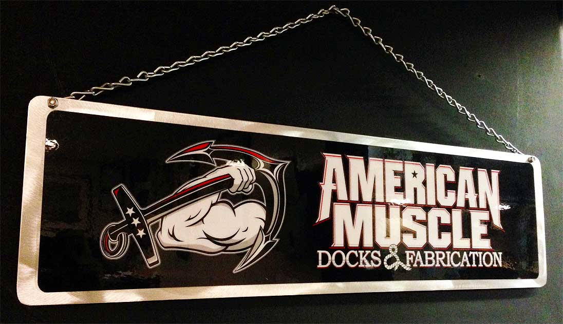 Aluminum Signs American Muscle Docks Amp Fabrication