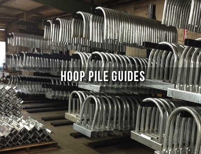 Pile Guides | American Muscle Docks & Fabrication