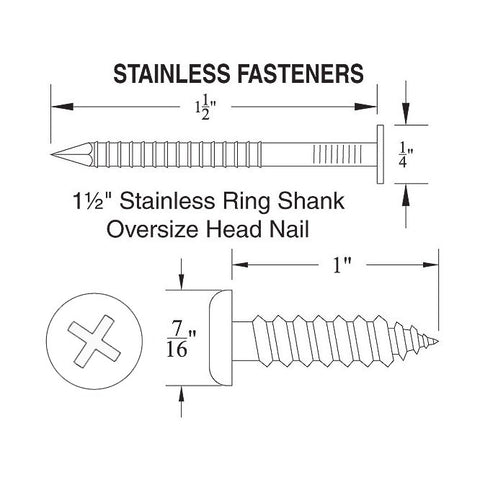 Ring Nail or Screw