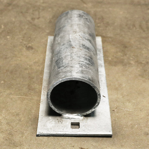 "Pipe Holder - Solid 5"" Plate"