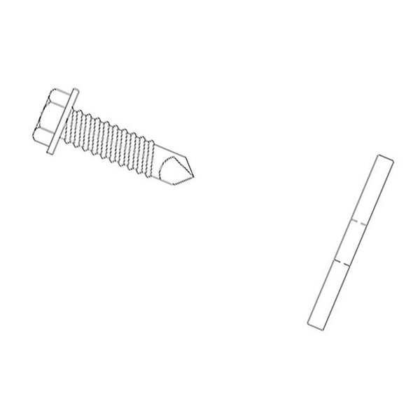 Hex Head Washer Screw