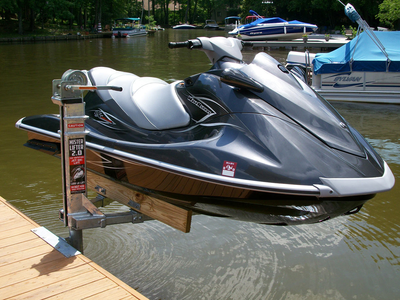 Mr Lifter Jet Ski Lift American Muscle Docks
