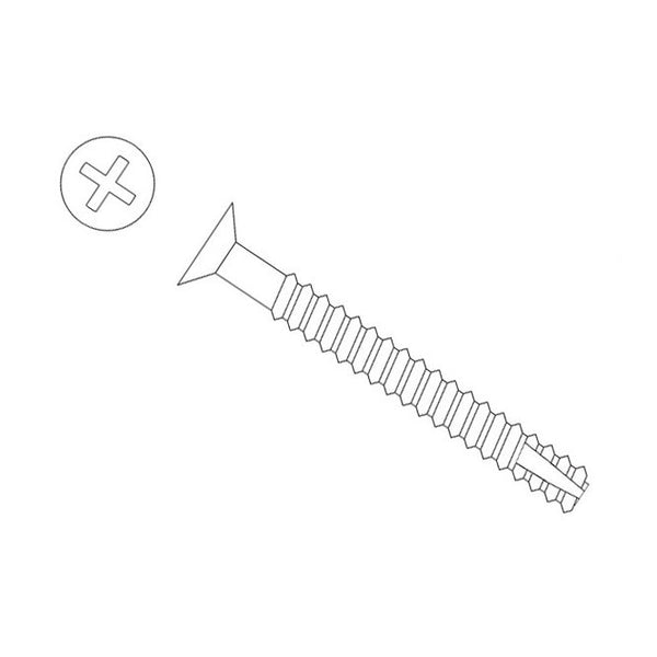 Self-Tapping P-Head Deck Screw