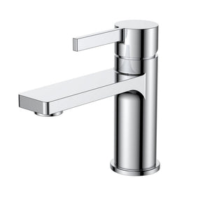 KubeBath Aqua Sotto Single Lever Bathroom Vanity Faucet - Chrome