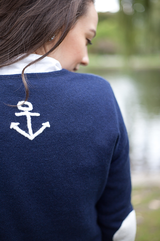 Anchor Whipstitch sweater