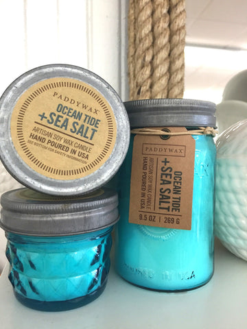 Ocean Tide + Sea Salt Jar Candle