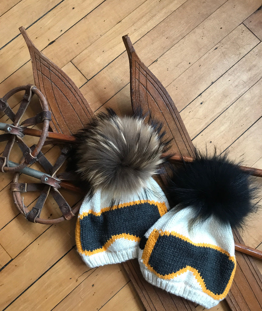 Fur Goggle hat RESTOCKED
