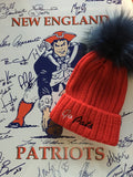 Go Pats POM HAT  NOT INCLUDED IN SALE - Pink Pineapple Shop