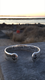 Hope Anchors the soul STERLING Bracelet - Pink Pineapple Shop