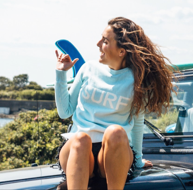 Surf  100%cotton  Sweater