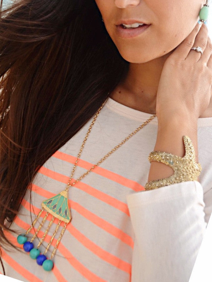Cabana Necklace - Pink Pineapple Shop