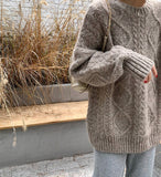Heavy Super Soft Oversized Classic Fisherman- Mocha