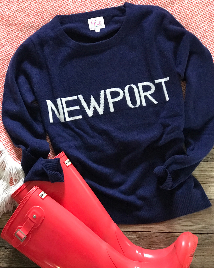 Custom 100% cashmere Newport sweaters - Pink Pineapple Shop