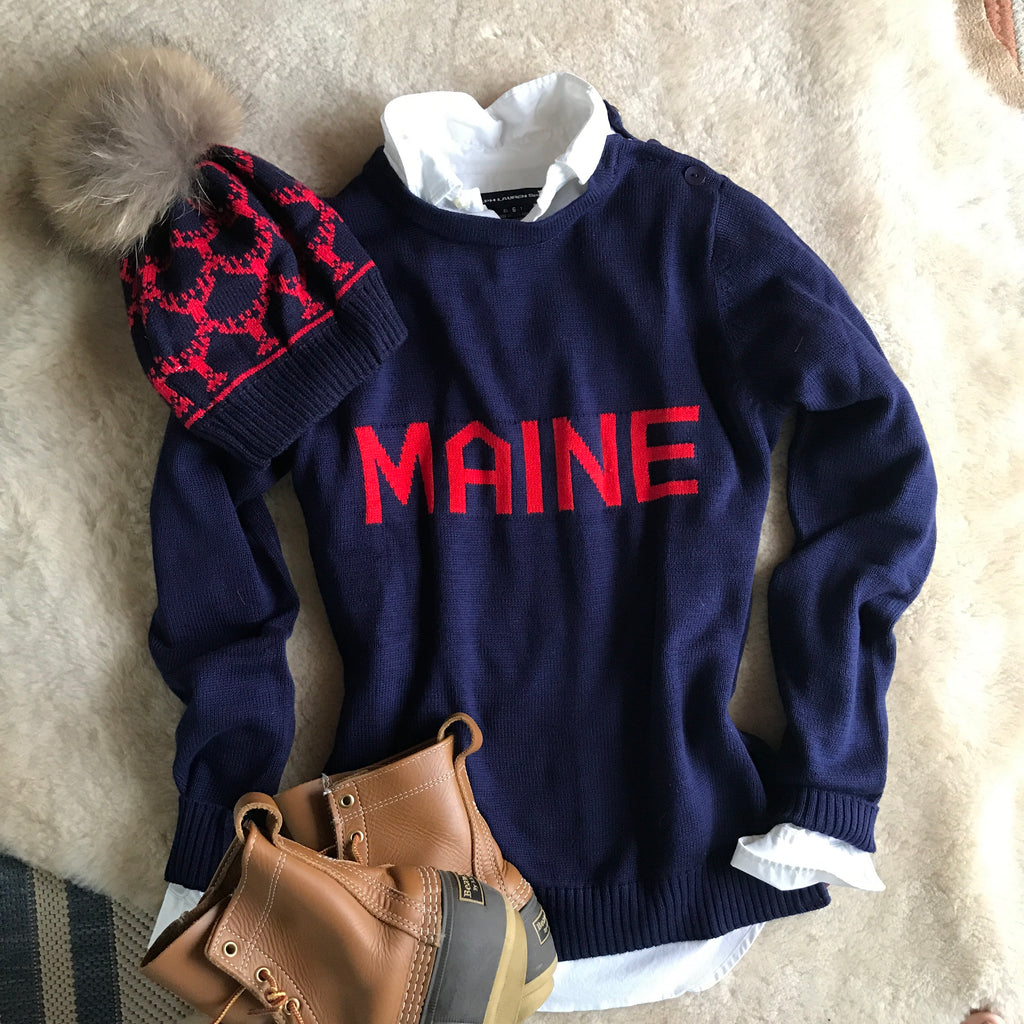 Day 1 SPECIAL  Ends NOON 12/5  Maine Sweater