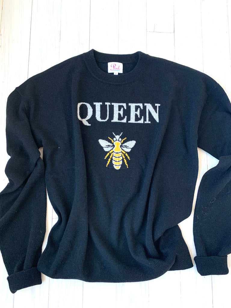 Queen Bee 100% Cashmere Sweater